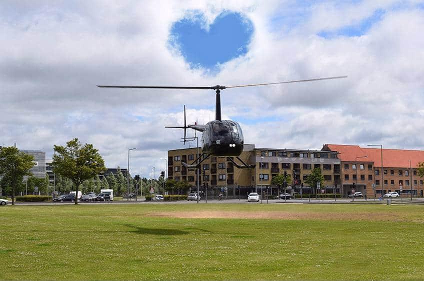 Helikoptertur i København, Århus mfl