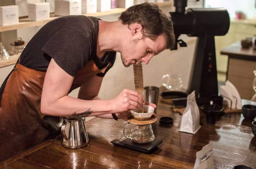 Kaffekursus hos La Cabra i Århus