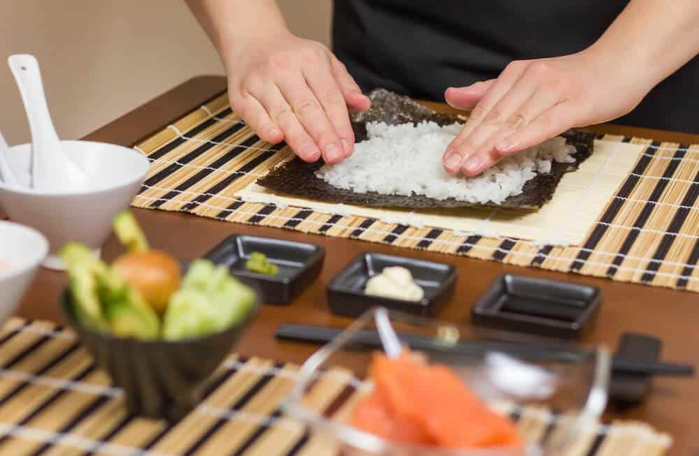 lær at lave sushi på sushikursus
