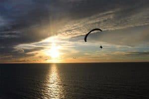 Paragliding oplevelse for mænd
