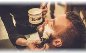 gave til ham, bliv barberet