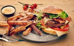 Gourmetburger for 2