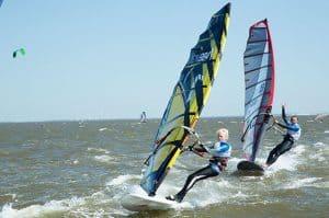 Windsurfing gave til ham