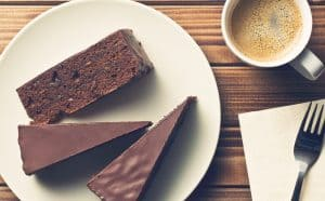 Kaffe og kage for 2