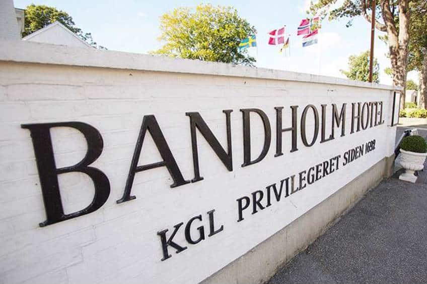Gourmet og romantik på Bandholm Hotel