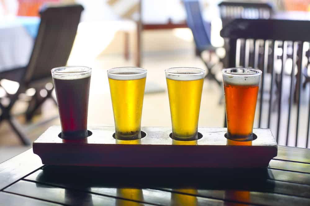 Ølsmagning hos Braunstein bryghus